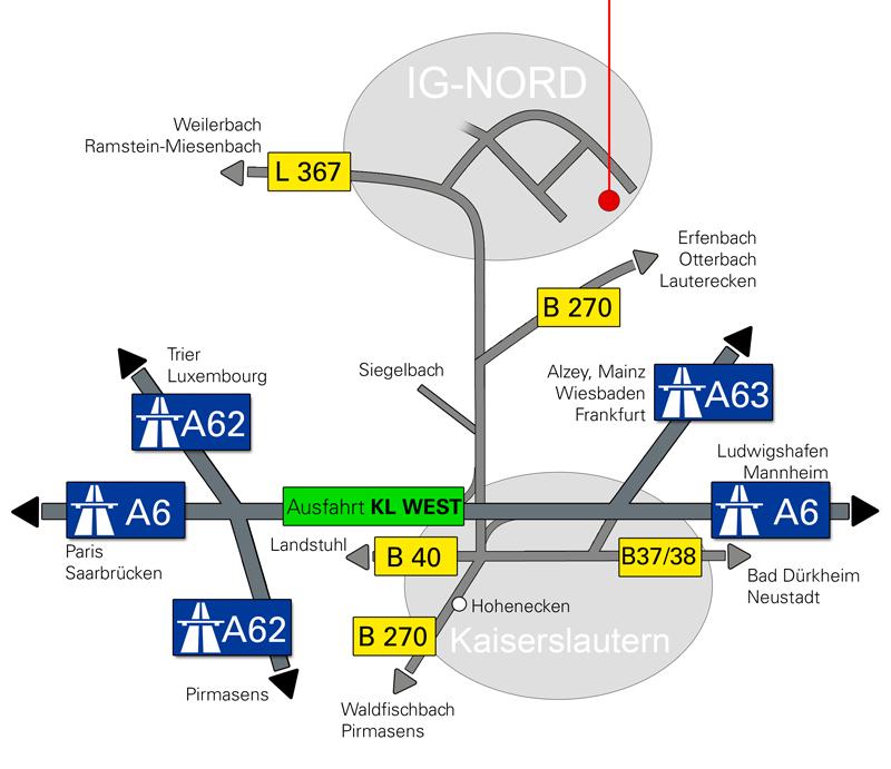 PFAFF Route